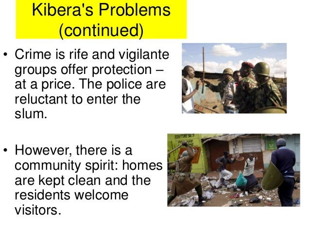 kibera squatter settlement redevelopment case study