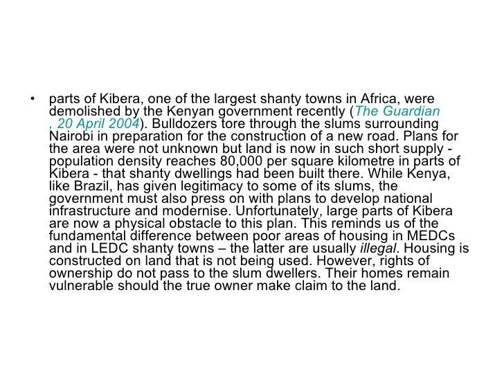 kibera case study