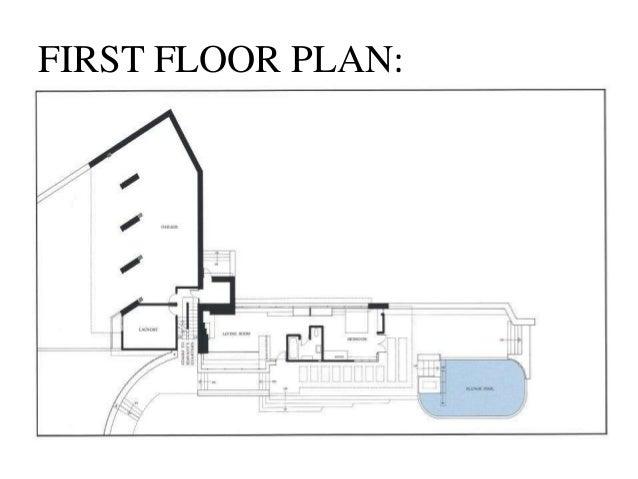FIRST FLOOR PLAN ...