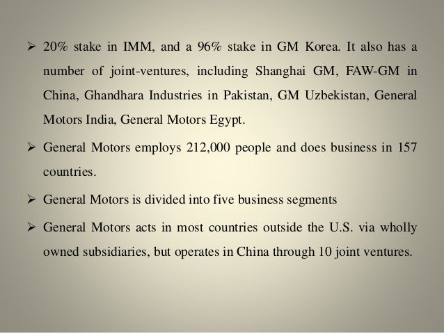 hbs general motors essay essay The history, development, and growth of the company over time (e g , critical incidents) general motors general motors  hbs general motors essay  general motors.