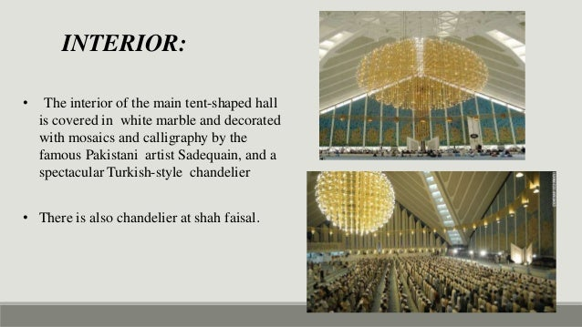 Case Study Of Islamic Center Of Rome Faisal Mosque