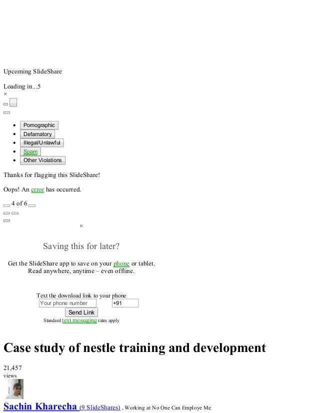 hr case studies on training and development Training and development describes the formal, ongoing efforts that are made  within  these techniques might include lectures, conferences, case studies,  role.
