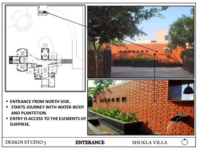 Case study of shukla villa, ahmedabad