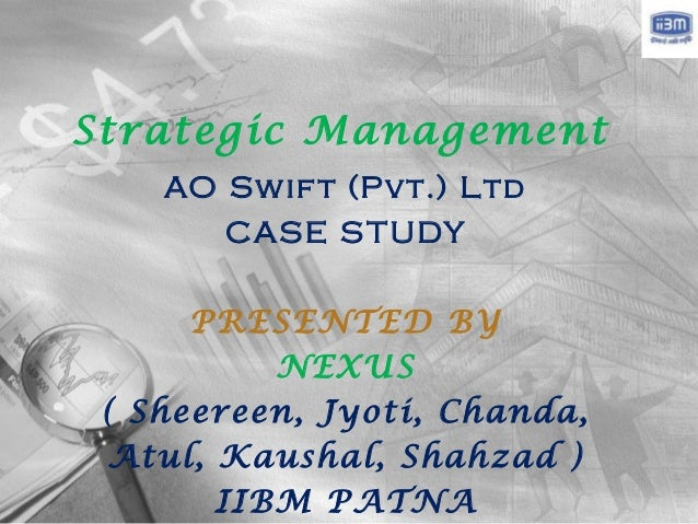 Case Studies in Business Management, Strategy Case Studies, Strategic Management Case Study