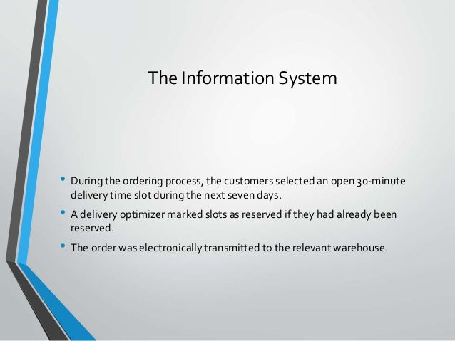 webvan case study 1 This case follows webvan as it pursues its five goals for 2000: (1) substantially increase the number of customers and average order size, (2) ensure that its technologies and systems function properly at increased order volumes, (3) realize repeat orders from a significant number of customers, (4) achieve favorable gross and operating margins .