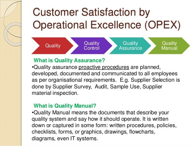 quality management case study The continuous process of reducing or eliminating errors in manufacturing,  streamlining supply chain management, improving the customer experience and .
