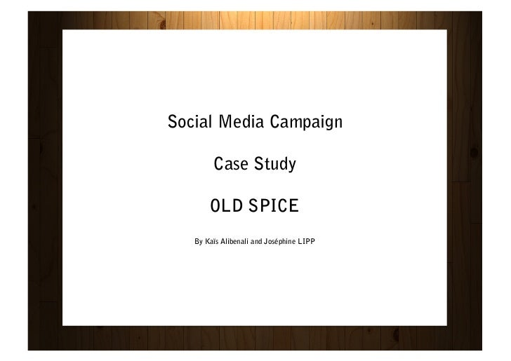 Old Spice Guy Case Analysis - WordPress.com