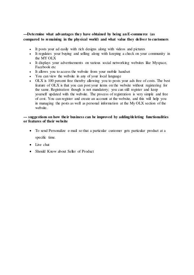 Case study olx