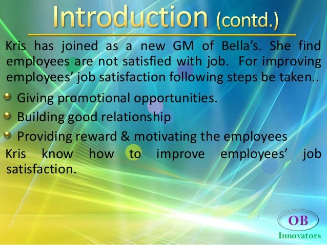Job satisfaction case study   Writing And Editing Services SlideShare