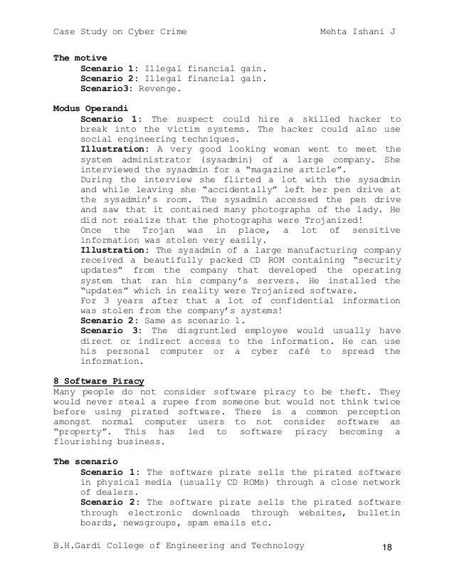Cyber Crime Seminar PPT with pdf report - Study Mafia