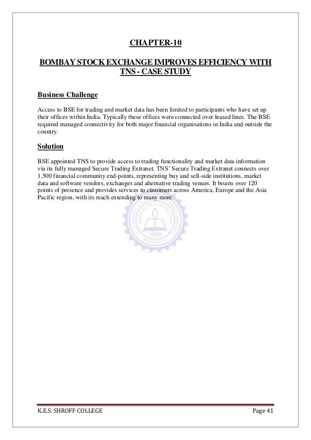Stock Exchange of Thailand Case Study - Amazon Web ...