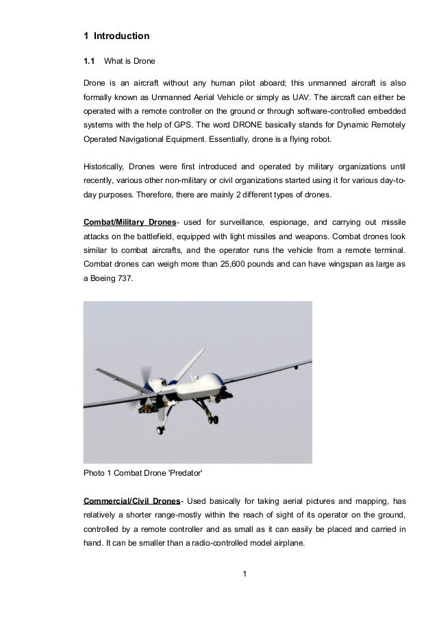 IRT 19 3 1 Introduction 11 What Is Drone