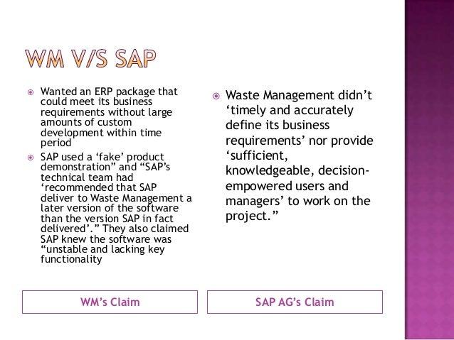 erp implementation problems case study