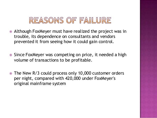 business process reengineering failure case study Implementing business process reengineering (bpr) in government organization  the term 'business process reengineering  and 'failure to test the process.