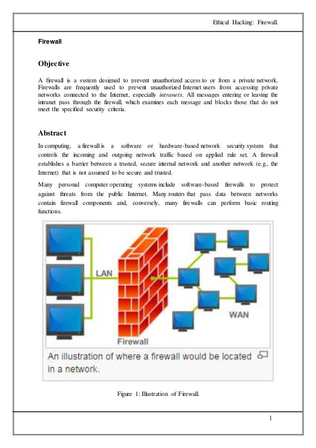 Firewall research paper