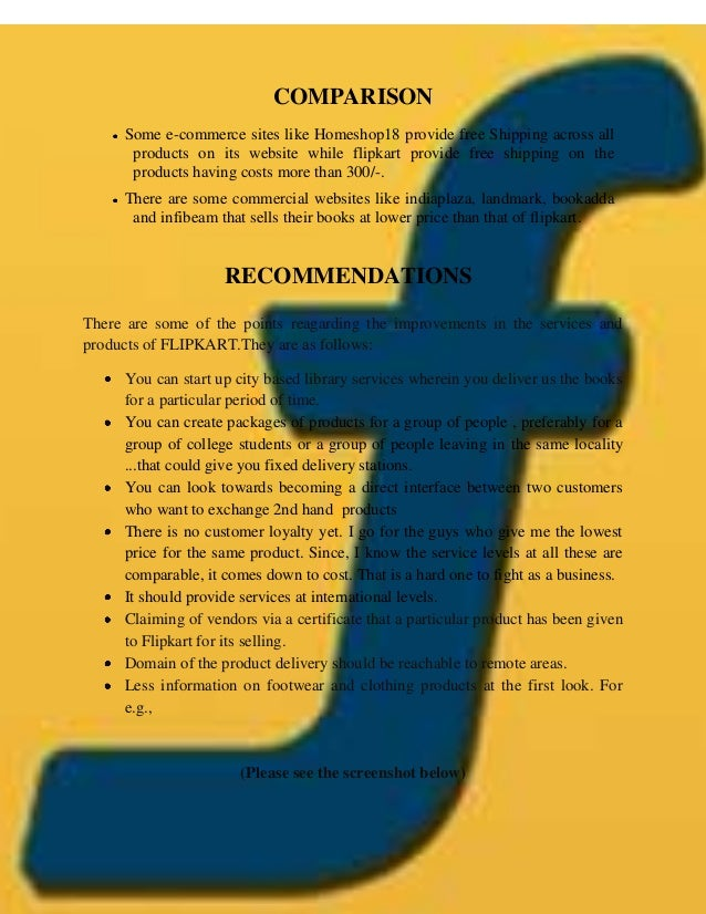 flipkart case study Case study about flipkart flipkart is india's largest e-commerce marketplace with over with over 60% market share of mobile commerce with a.