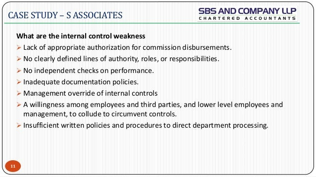identify symptoms of a lack of internal control Internal factors affecting procurement process of supplies in the public sector a survey of kenya government clinical and nursing specialties, pharmacy, quality control, and even the end user: the patient lack of direction, poor co-ordination.