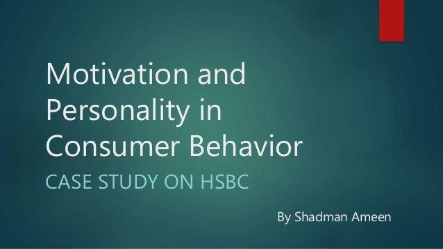 personality of consumer behavior