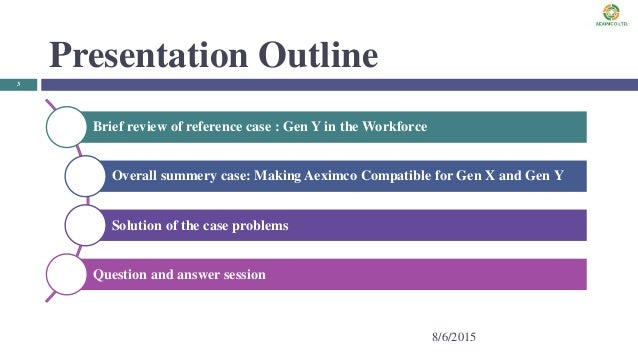 gen y in the workforce case A comparison between generation x and generation y in terms of the case of turkish health and y in total workforce is 90.