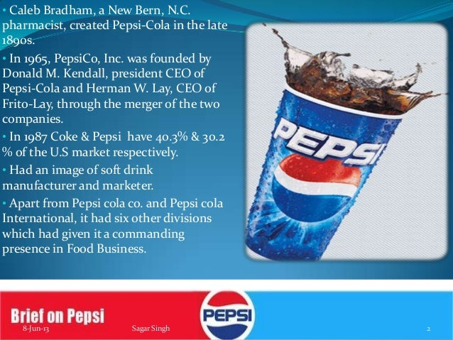 pepsi case study marketing The position of pepsi cola in the ukraine, it describes logistic and supply-chain management problems with regard to inefficiency, the environmental impact.