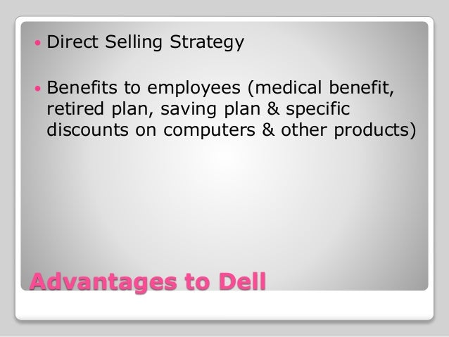 dell case study strategic managemen Face with such a decline in sales and the market share, dell must come up with new strategy in order to reestablish its authority in the market the.