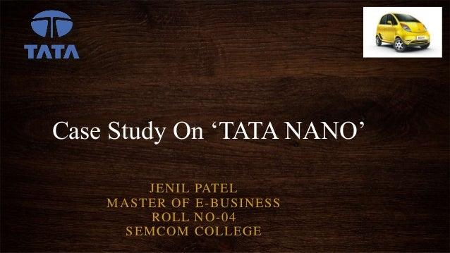 ppt tata nano singur case study