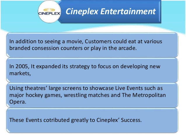 cineplex entertainment the loyalty program case analysis Cineplex registered a record second quarter, thanks in large part to the strong membership of the scene loyalty program−a partnership between scotiabank and cineplex entertainment.