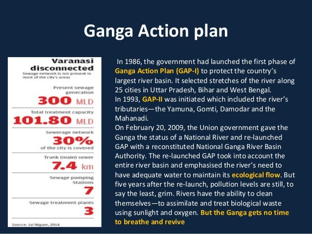 Ganga Action Plan | Case Study Template