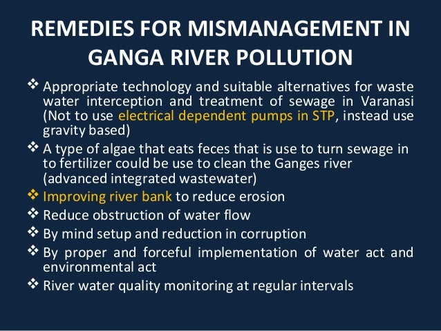 Case study ganga action plan - SlideShare
