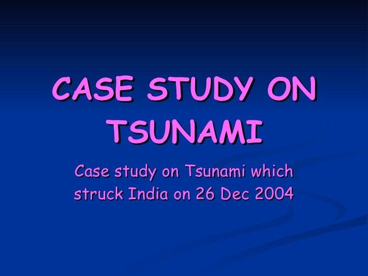 impacts of tsunami
