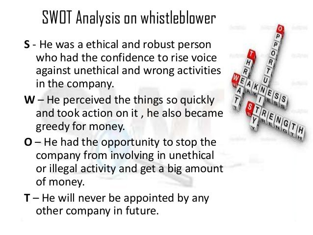 an analysis of whistle blowing and the issue of company loyalty Whistleblowing and employee loyalty robert a the relation between whistle- blowing and employee loyalty that i want of loyalty to the company.