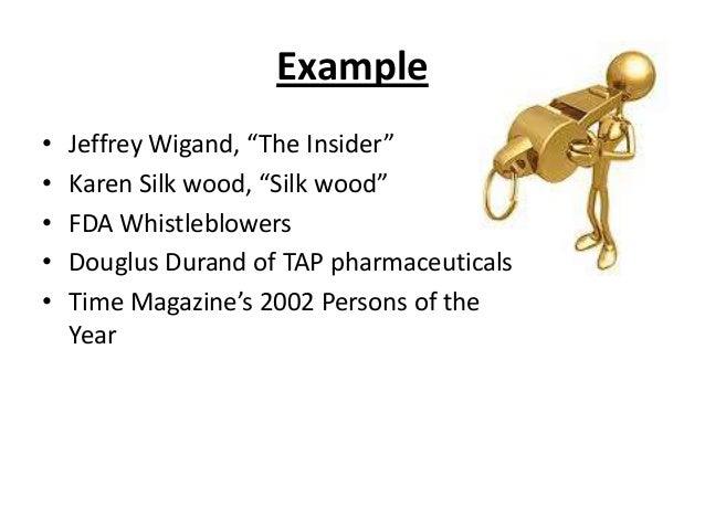example jeffrey wigand