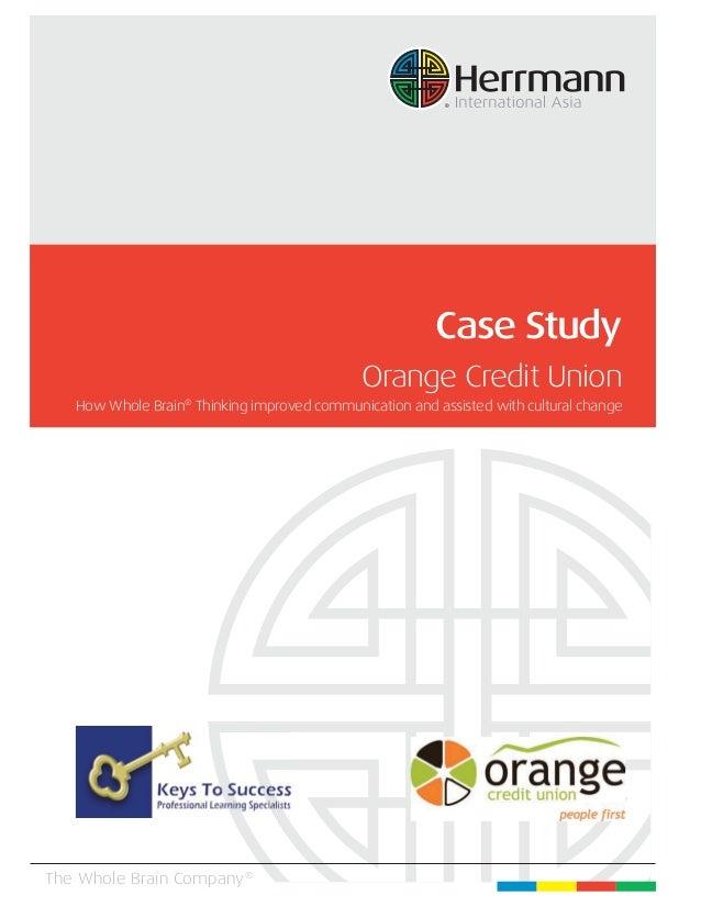 Orange Credit Union: Improving Teamwork, Trust and Board ...