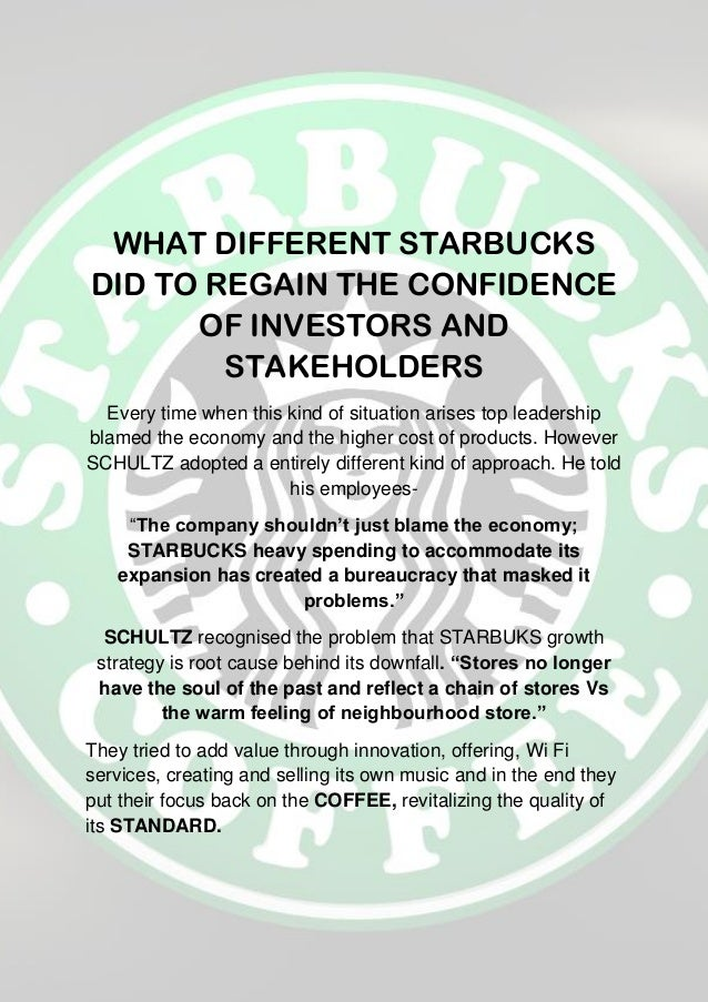 Case study of starbucks structure mgt 330