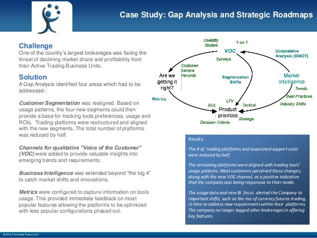 gap case study analysis This case study examines the three types of gaps in enterprise architecture and how to manage transition from current gap analysis is clearly a key technique.