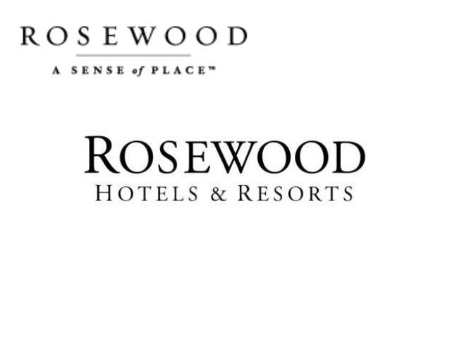 rosewood hotels and resorts case The calculation below confirms that when following the corporate branding/strategy could be beneficial for rosewood hotels rosewood hotels & resorts: customer lifetime value (cltv) analysis without rosewood branding with rosewood corporate branding total number of unique guests 115,00000 115,00000 average daily spend $750 $750 number of days average guest per stay 2 2 average.