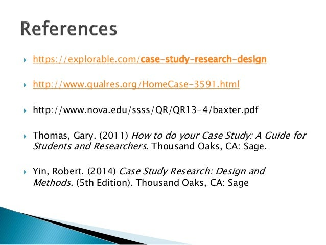 [PDF] Case Study Research: Design and Methods (Applied ...