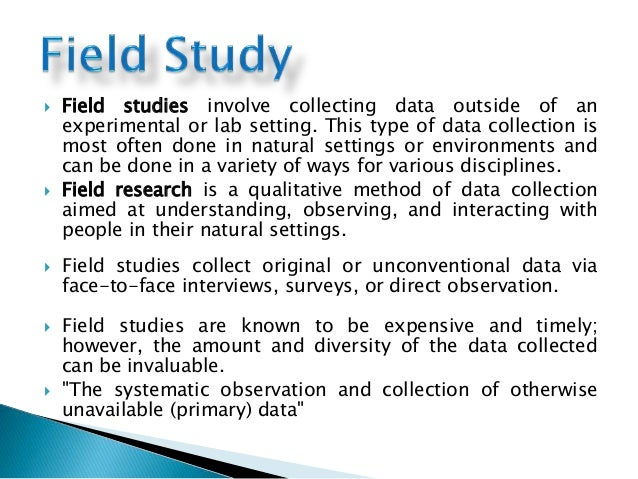 What is Field Research: Definition, Methods, Examples and ...