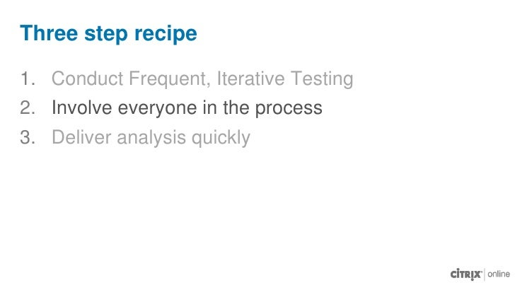 Use remote usability test tools<br />