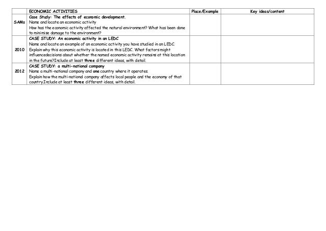 OPERATIONAL CASE STUDY PRACTICE EXAM ANSWERS