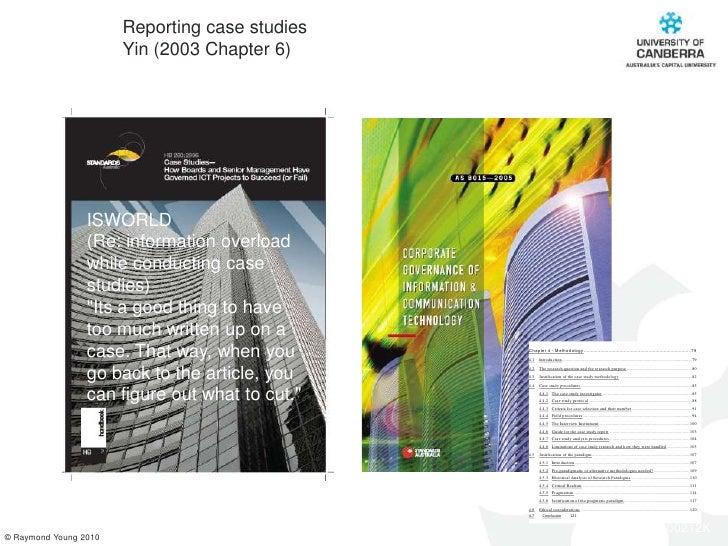 single case study research design