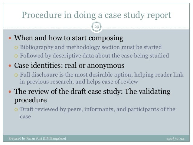 analyze the case study and descriptive approach to research SlideShare