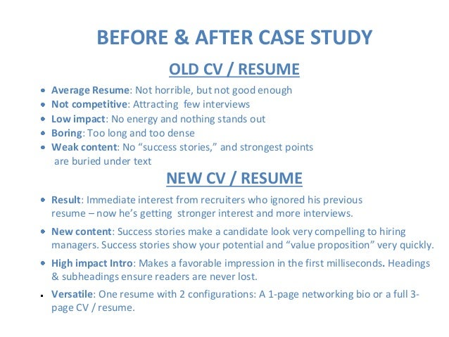 old resume page 4 of 4 pages