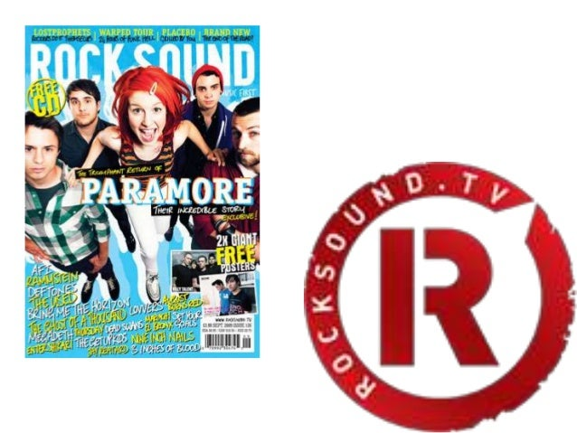 •A monthly magazinefocusing on differenttypes of rock music•Probably targetingTeenagers about 16 to20 year olds who enjoyt...