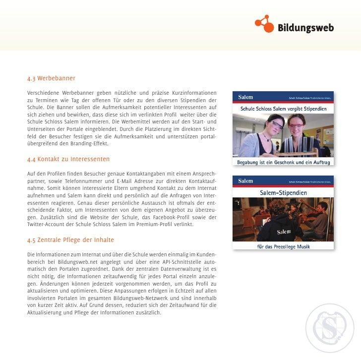 4.3WerbebannerVerschiedene Werbebanner geben nützliche und präzise Kurzinformationenzu Terminen wie Tag der offenen Tür o...