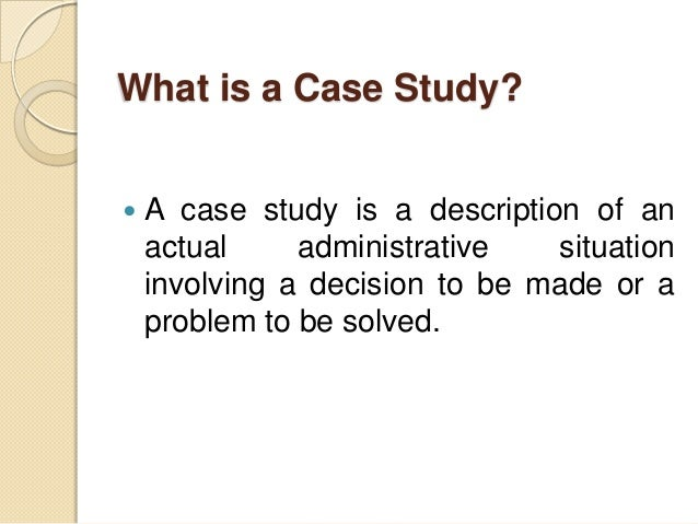 Case Study Solving Techniques - sullentone.com
