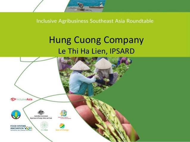 Hung Cuong Company Le Thi Ha Lien, IPSARD