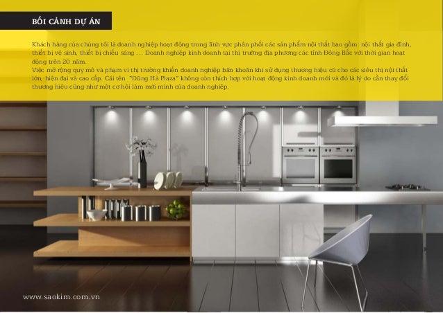 Case Study - Dự án thiết kế thương hiệu nội thất cao cấp Molux Slide 2
