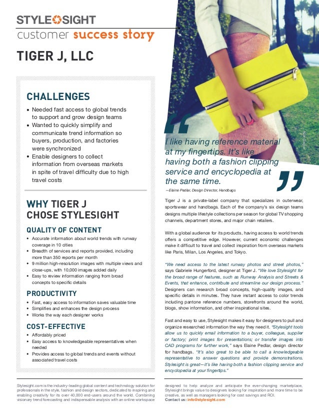 customer success storyTIGER J, LLC     CHALLENGES                                                                         ...