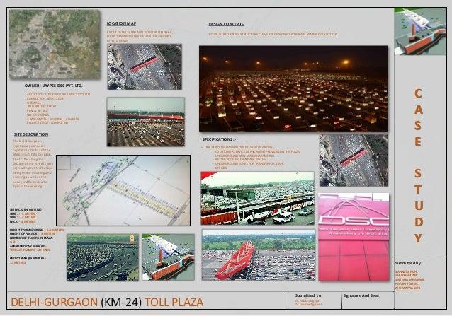 Case Study On Delhi Gurgaon Km 24 Toll Plaza